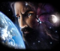 Imágenes de Jesús y la tierra