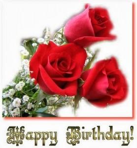 Imagenes de Cumpleaños con Rosas Rojas 21