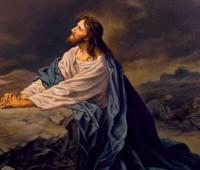 Imágenes de Jesús orando