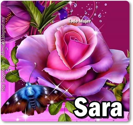 sara-rosas con nombres de mujer