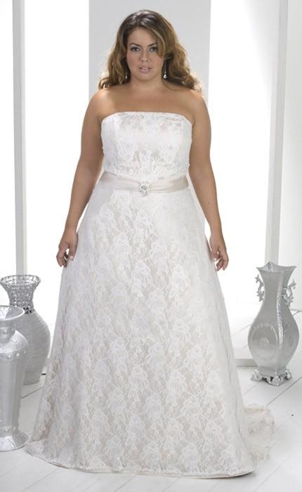 vestido-strapless-novias-gorditas