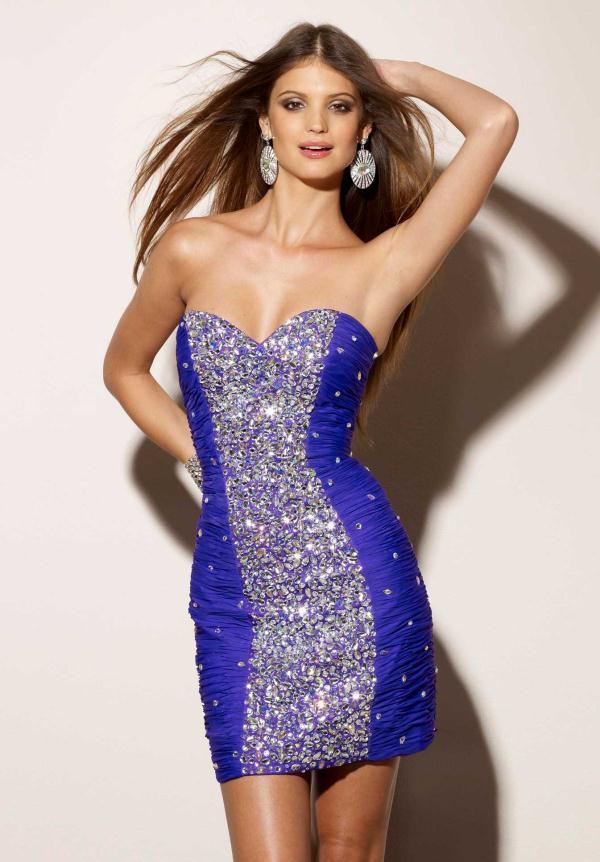 vestidos-cortos-para-fiestas-de-noche