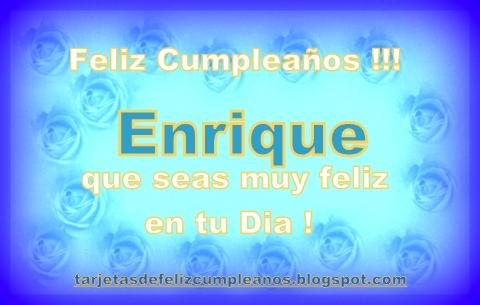 1-enrique n cumpleaños rosas azules