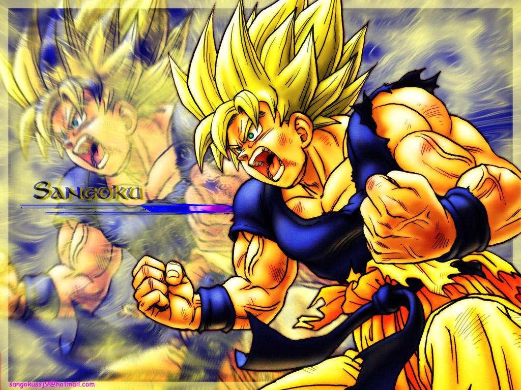 Goku s_pa saiyajin