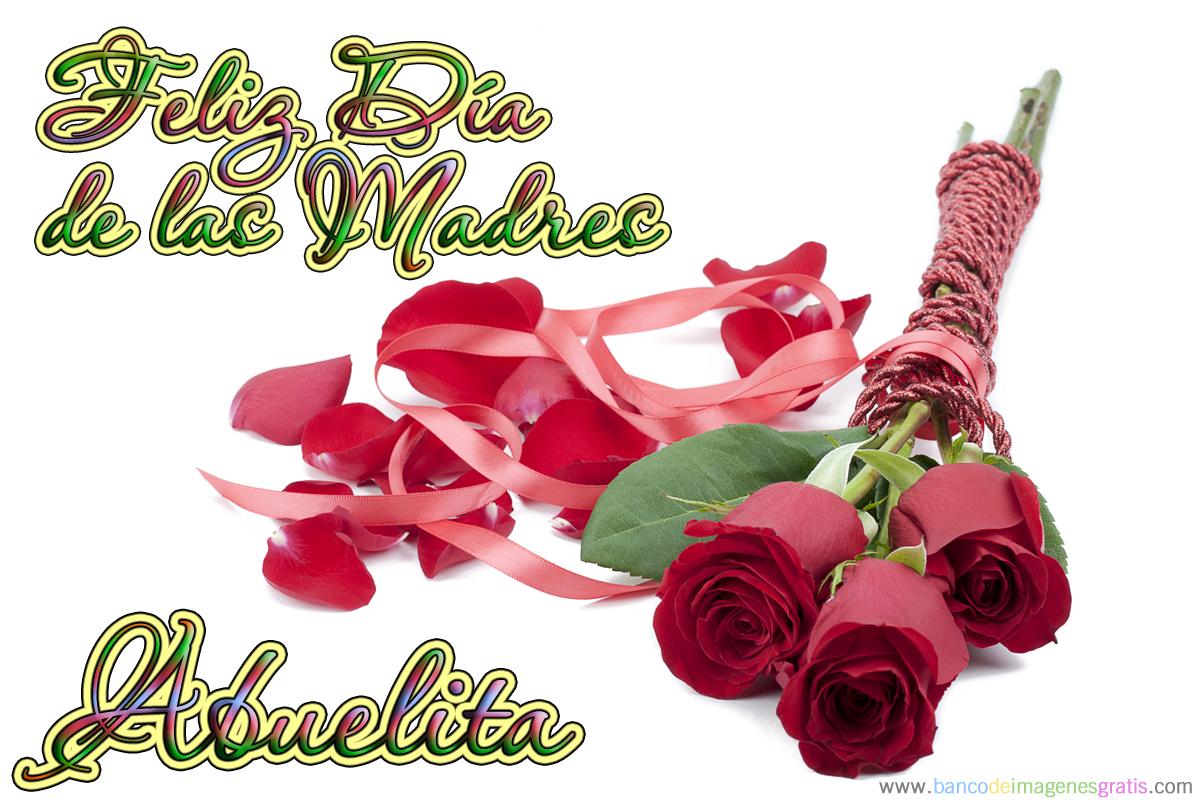 felicidades a todas las mamitas en su dia 10 de mayo dia de las madres nombres Abuelita 5