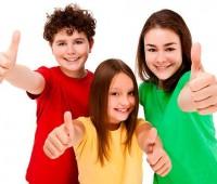 Imágenes de hijos felices