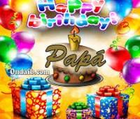 Imágenes de feliz cumpleaños para mi papá