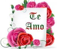 Imágenes de rosas que digan te amo