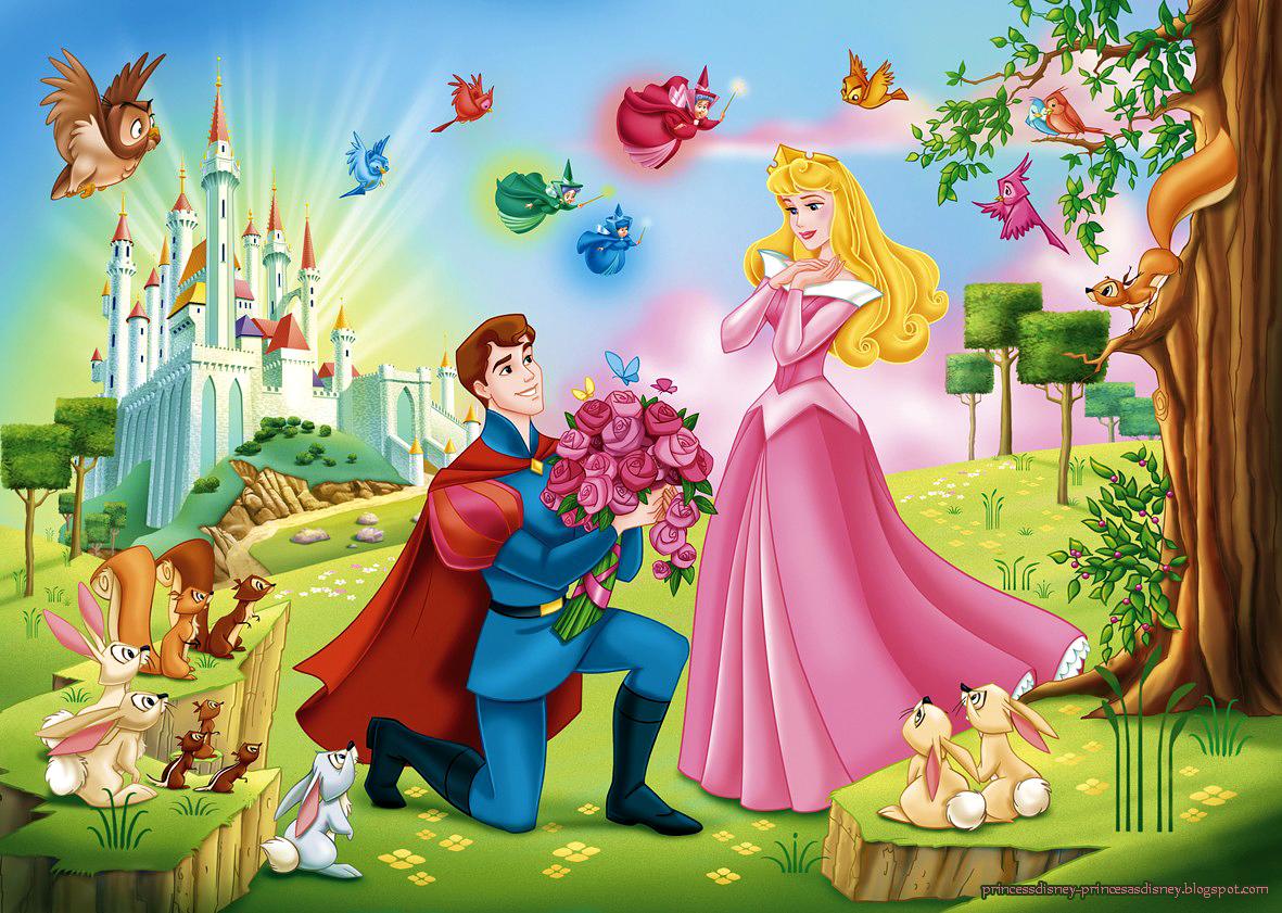 la-bella-durmiente-wallpaper-fondo-de-pantalla-sleeping-beauty-aurora-felipe-disney-princesas-princess-principe-prince-hadas-fauna-flora-primavera