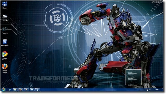 TransformersTheme