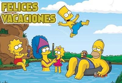 felices-vacaciones-los-simpsons