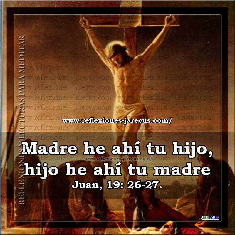 jesucristo04 madre e ahi tu hijo