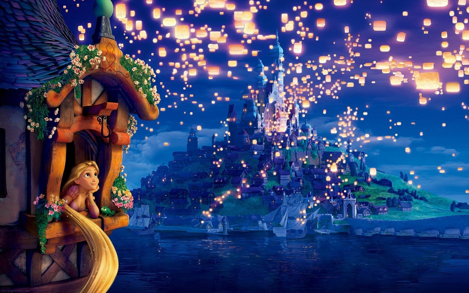 rapunzel-en-el-castillo