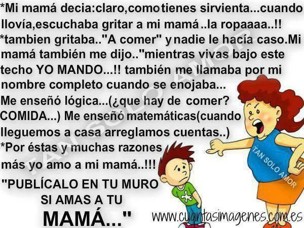 yo amo a mi mama