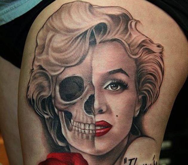 12-geniales-tatuajes-de-Marilyn-Monroe-10