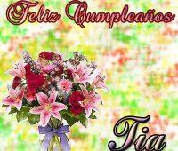 Imágenes de felicidades para las tias