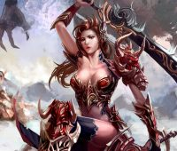 Imágenes de chica con espadas