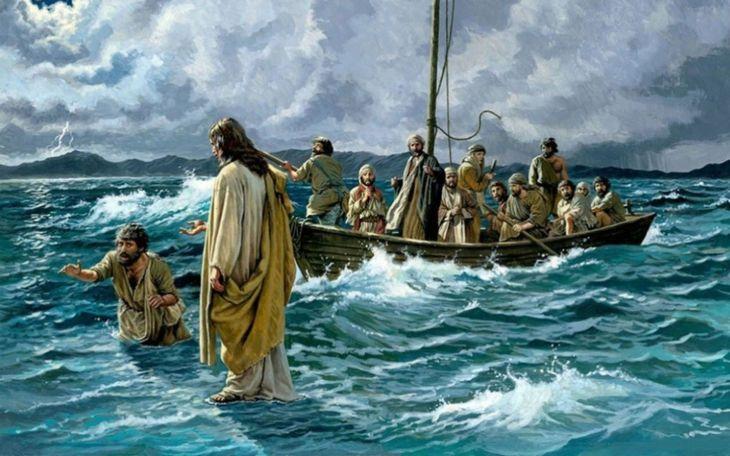 jesussobrelasaguascaminando