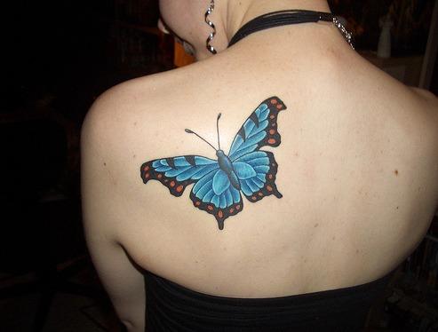 tatuajes para mujeres de mariposas