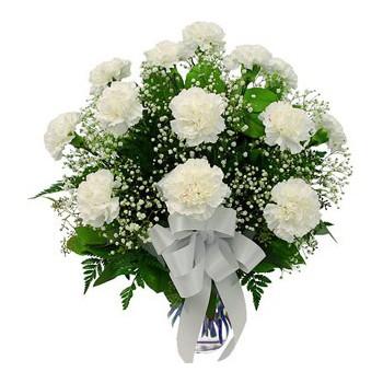 rosas blancas para novia