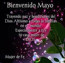 BIENVENIDO - MES DE MAYO