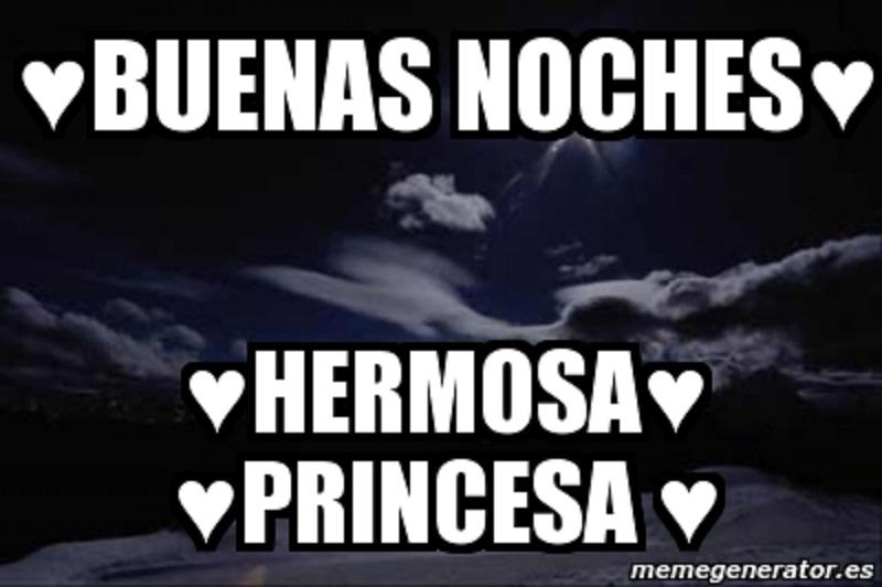 Imágenes de buenas noches princesa