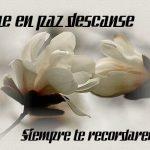 Imágenes de rosas que digan que descanses en paz