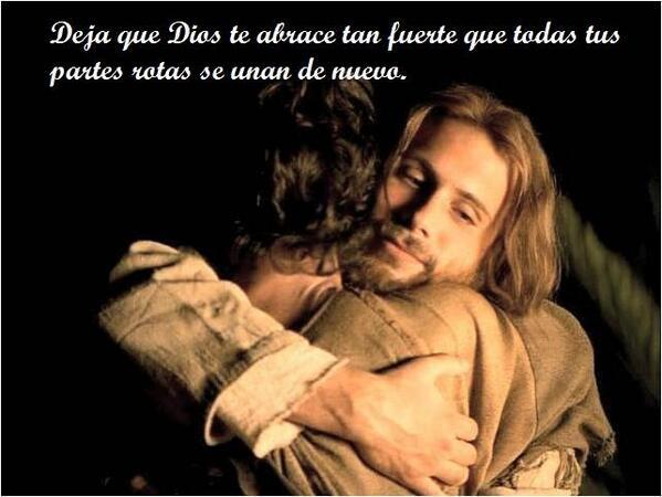 que Dios te de un abrazo