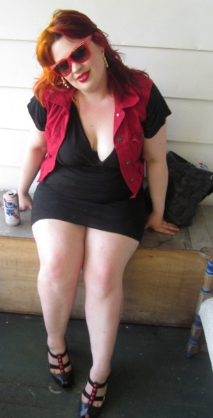 gorditas en minifalda