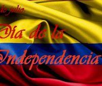 Feliz día de independencia de colombia