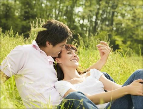 fotos de parejas en el campo