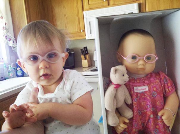 niños parecidos a sus muñecos 2