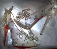 Imágenes de zapatillas de cristal