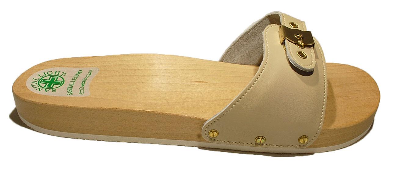 zapatos de madera para hombre