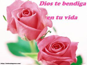 Dios te bendiga en este día