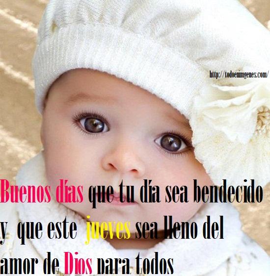 Imágenes De Buenos Días Bebés Feliz Jueves Descargar