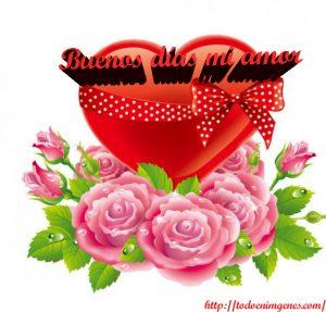 buenos días amor