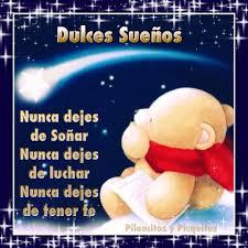 dulces sueños para todos