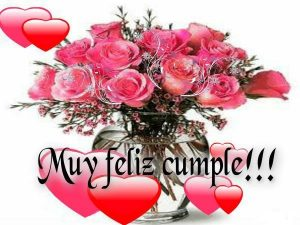 feliz cumpleaños para ti con todo mi amor