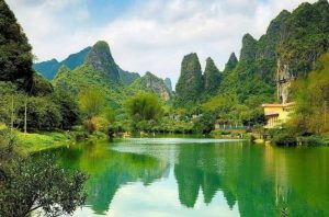 hermosos paisajes naturales .