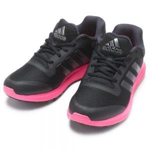 negro con rosado zapatos adidas