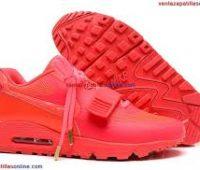 Imágenes Zapatos Nike en color rojo