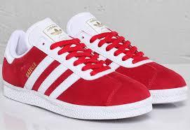 todo en imágenes zapatos adidas en color rojo para mujer