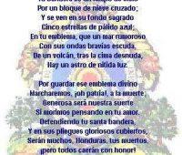 Imágenes del himno nacional de honduras
