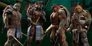 Las tortugas ninjas mutantes adolescentes