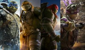 Las tortugas ninjas mutantes adolescentes los cuatro hermanos ficticios