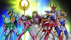 Los caballeros del zodiaco, podemos ver a todos los personajes de esta serie