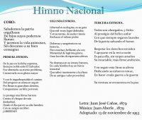 Imágenes con el himno nacional del salvador