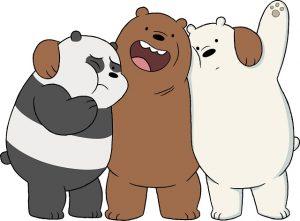 imágenes de Escandalosos- tenemos en esta imagen a polar, panda, y pardo .