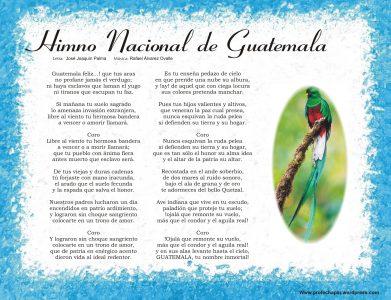 letra-himno-nacional-guatemala-national-anthem